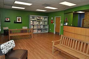 Montrose Animal Hospital Lobby