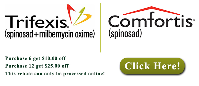 Montrose Animal Hospital Trifexis Comfortis 2015 Promotion